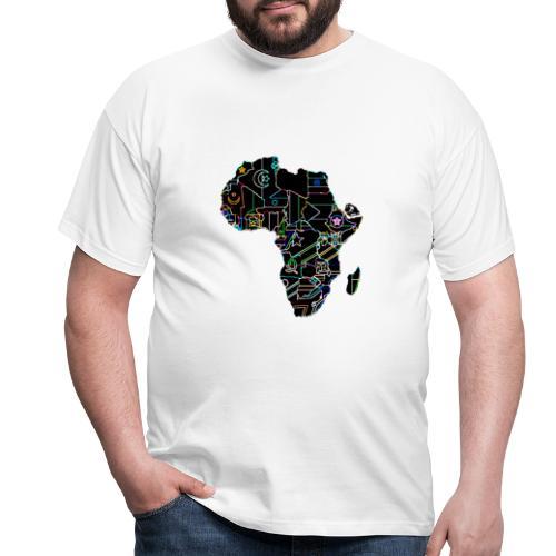 Afrique Néons - T-shirt Homme