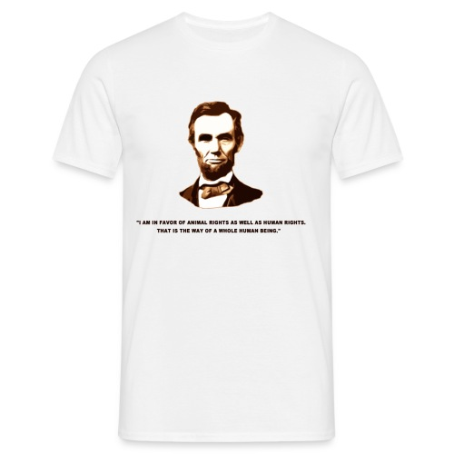 lincolnmagliettang1 - Maglietta da uomo