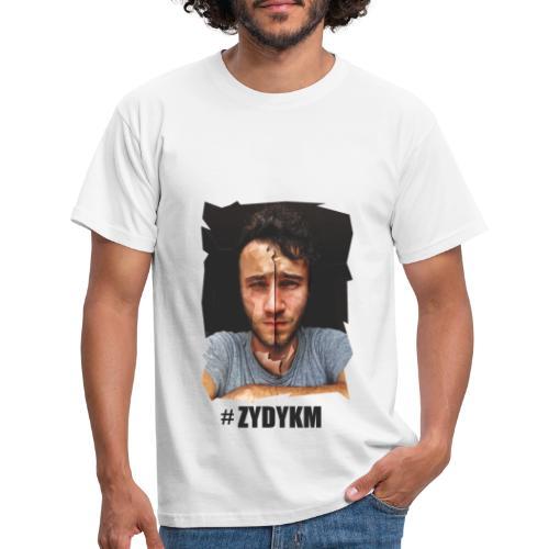 Low POly moja twarz na Tshirt - Koszulka męska