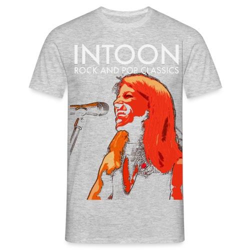 Intoon Singer - Männer T-Shirt