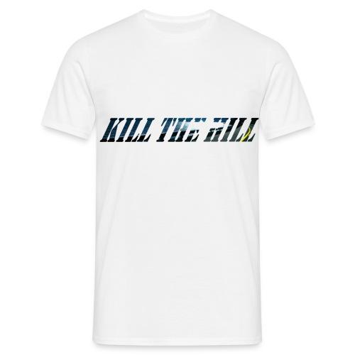 Kill the Hill Longboard Downhill 3 D - Männer T-Shirt