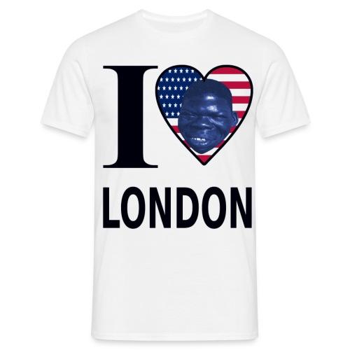 I LOVE LONDON - Männer T-Shirt