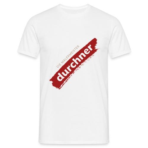 vorne oder hinten schräg - Männer T-Shirt