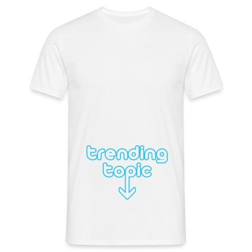 Trending Topic - Mannen T-shirt