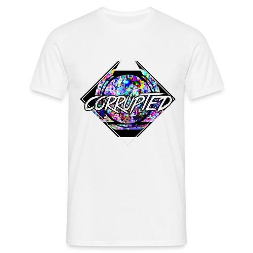Corrupted Logo - Männer T-Shirt
