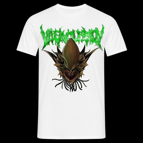 Alien head logo - T-shirt herr