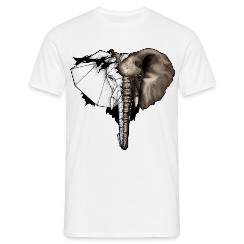 Geometrical elephant - T-shirt Homme