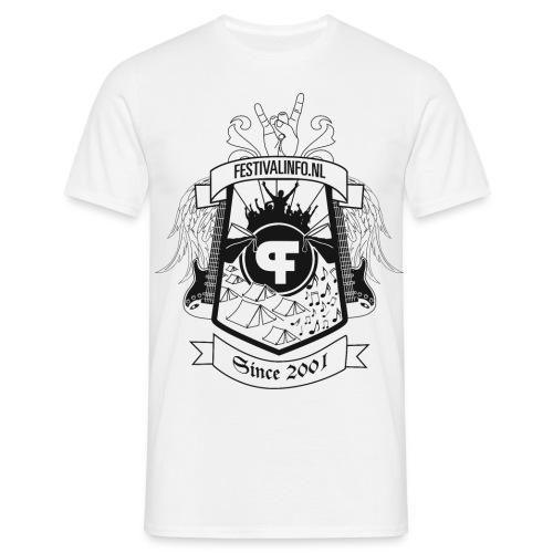 tshirt schild zwart def - Mannen T-shirt