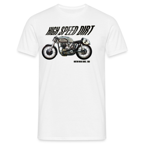 norton manx 500cc buena - Camiseta hombre