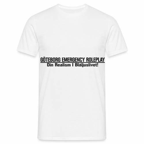 GER    Din Realism I Blå ljuslivet - T-shirt herr