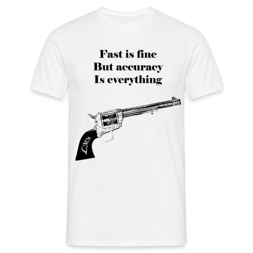 Wyatt Earp maxi noir png - T-shirt Homme