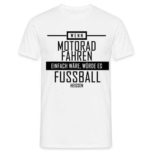 Motorad-fahren - Männer T-Shirt