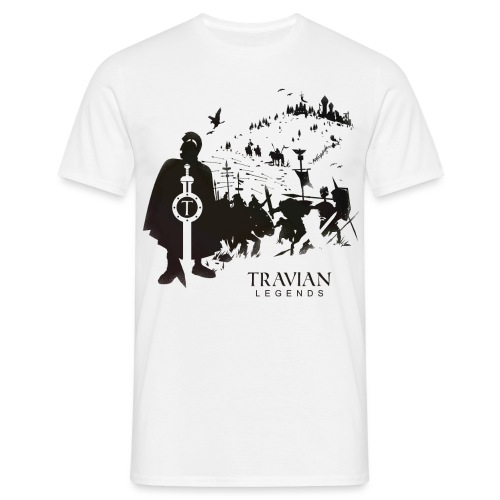travian_legends_scene_b - Men's T-Shirt