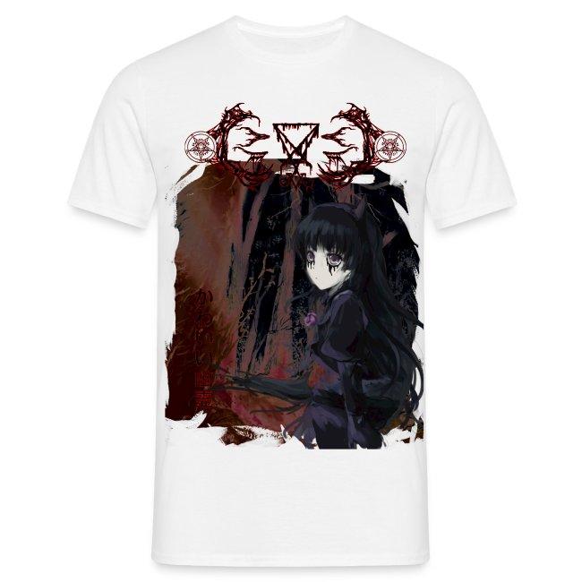 anime black metal shirt