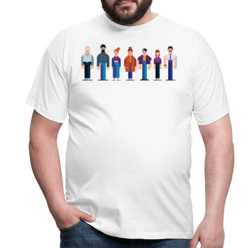 All Characters - Kollektion - Männer T-Shirt