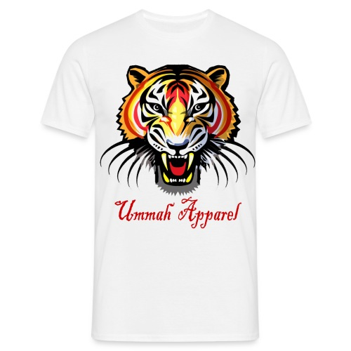 ummah apparel tiger png - Men's T-Shirt