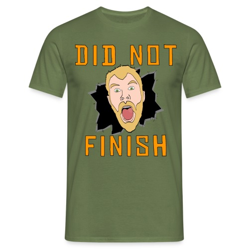 Did Not Finish - Men's T-Shirt