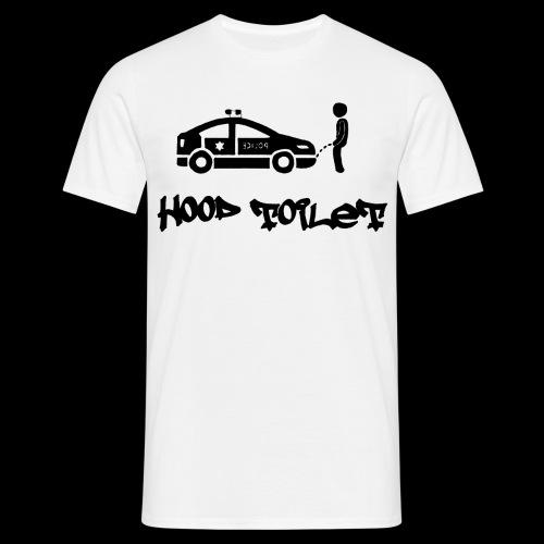 Hood Toilet - Männer T-Shirt