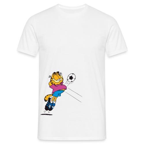 Garfield Soccer Player - Männer T-Shirt