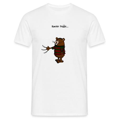 Hamster Freddie - Mannen T-shirt