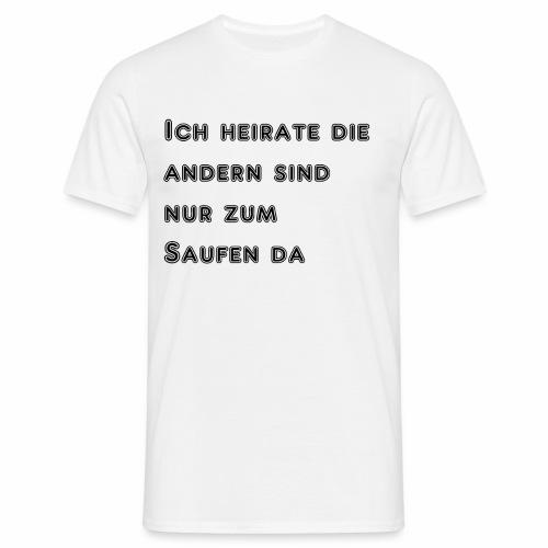 Spreadshirt - Männer T-Shirt