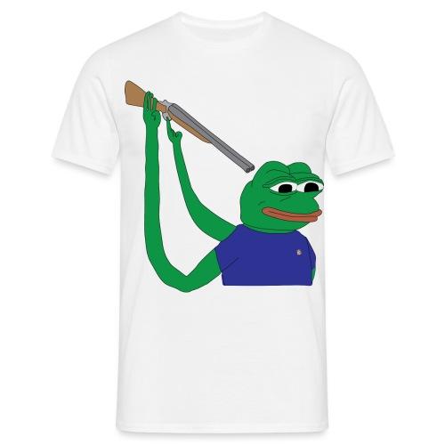 Internet Frog - T-shirt herr