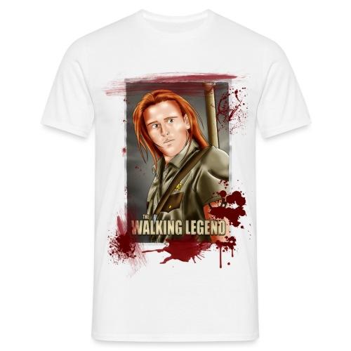 Walking Legend Polaroid - Men's T-Shirt