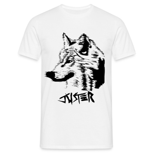 Loup-spreadshirt - T-shirt Homme