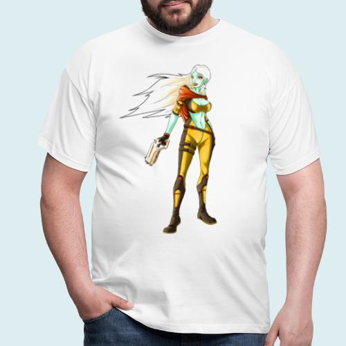sci fi hunter - Maglietta da uomo