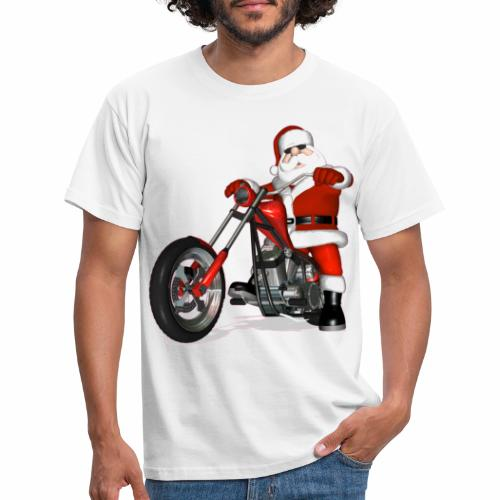 santa bike - Men's T-Shirt