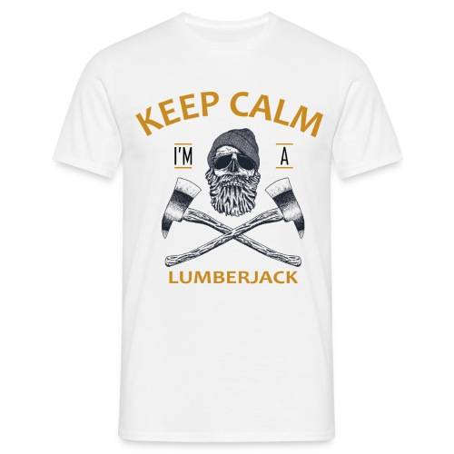 KEEP CALM, I'M A LUMBERJACK - T-shirt Homme