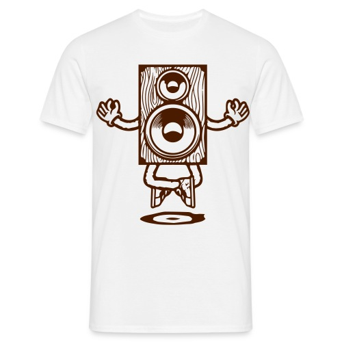music lifts me up by kontrastt - Männer T-Shirt