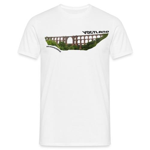 Vogtland Göltzschtalbrücke - Männer T-Shirt