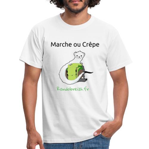 Randobreizh, marche ou crêpe - T-shirt Homme