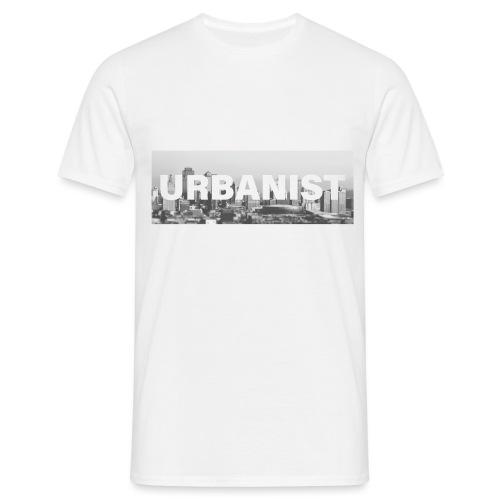 Urbanist Square - T-Shirt. - Koszulka męska