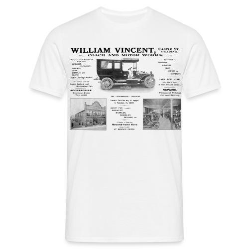 Vincent's Motor Works Reading - Men's T-Shirt