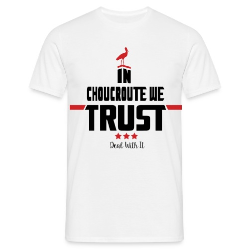 In Choucroute We Trust - T-shirt Homme