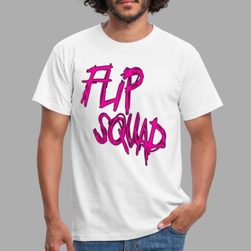 FlipSquad Rosa - T-shirt herr