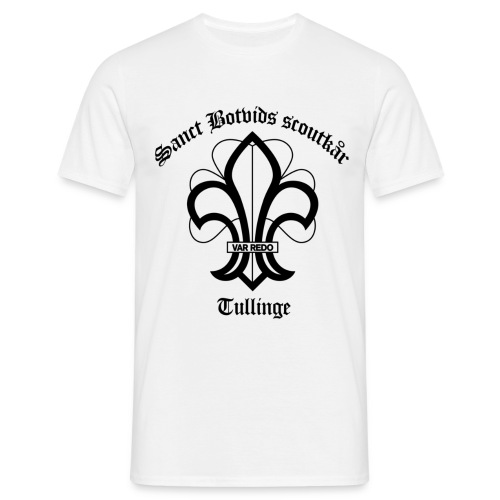 Sanct botvids scoutkår - T-shirt herr