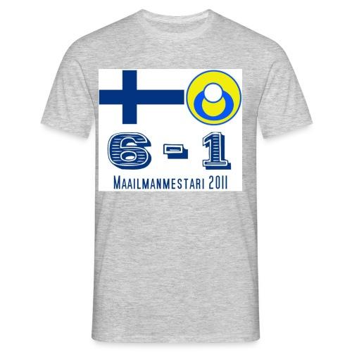 suomituttipaitafinal - Miesten t-paita