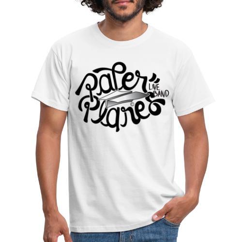Paper PlanesLogo Zwart - Mannen T-shirt