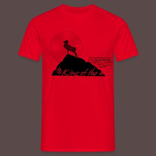 Muflone Halftone - Maglietta da uomo