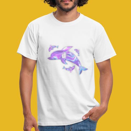 Delph Vaporwave Logo - Männer T-Shirt