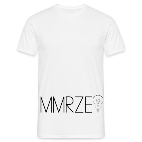 MMRZE weiss - Männer T-Shirt