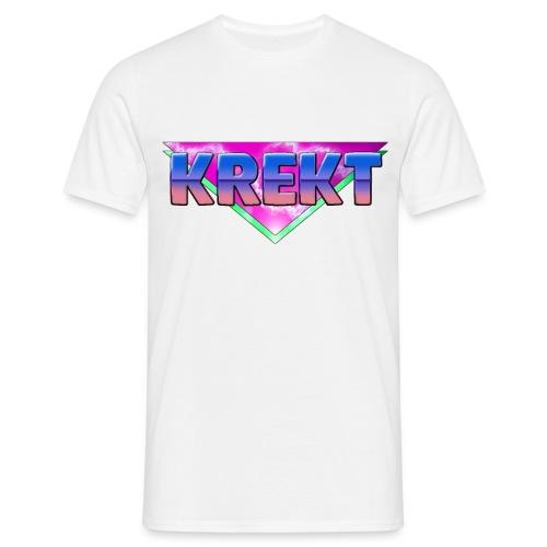 KREKT 80 s Style - Men's T-Shirt