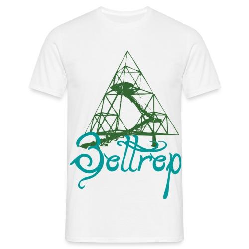 tetraeder - Männer T-Shirt