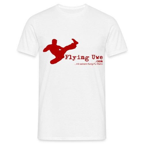 flyinguwe logo vektor kopie - Männer T-Shirt