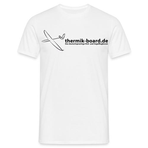 thermikboard logo text - Männer T-Shirt