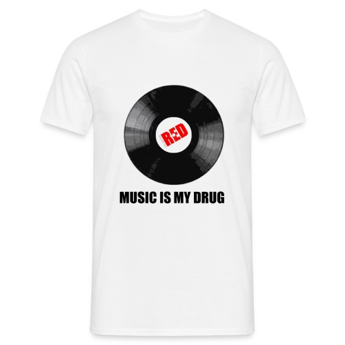 music drug - Koszulka męska