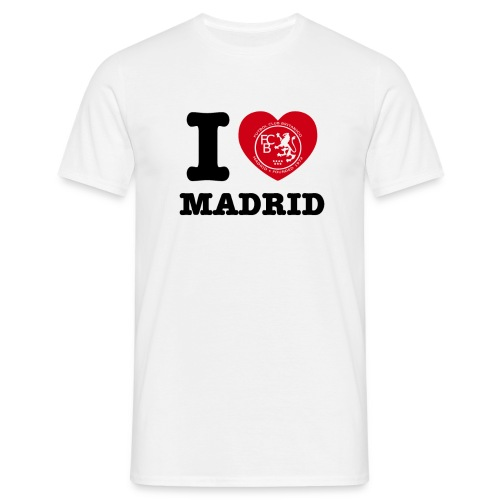 I love Madrid - Men's T-Shirt